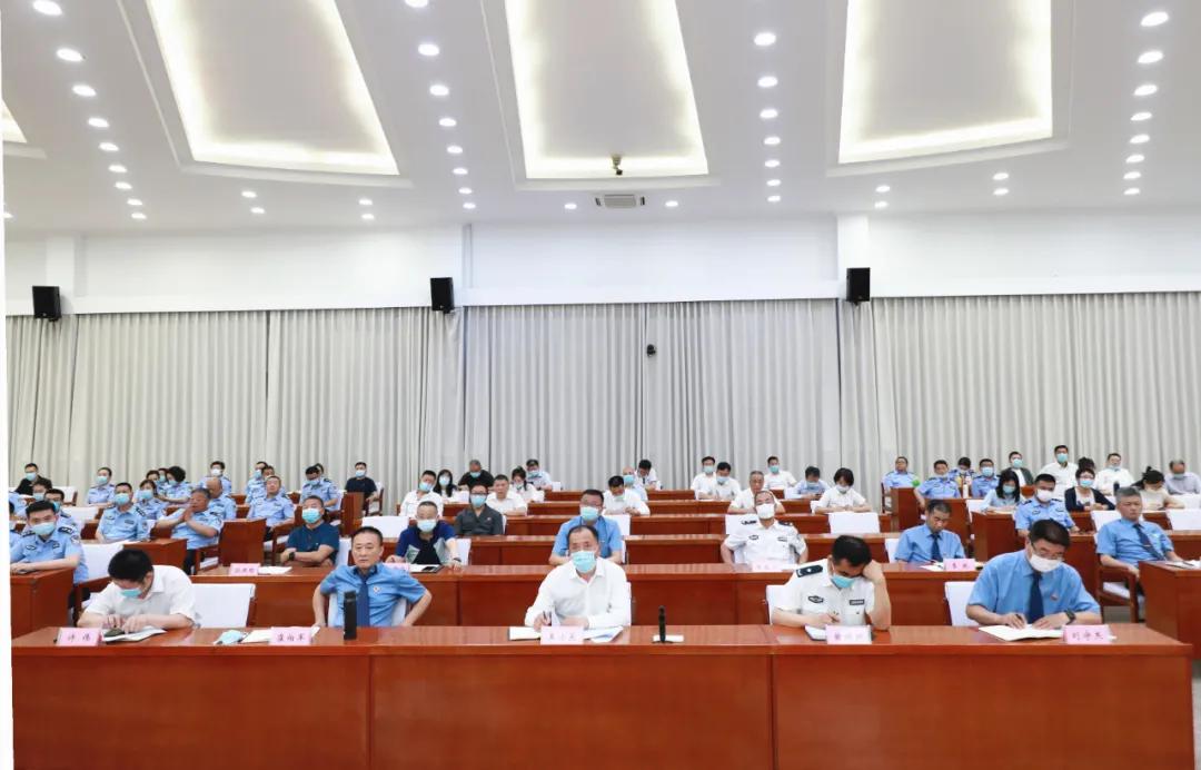 吉林市委政法委舉辦全市政法系統 黨史學習教育專題講座